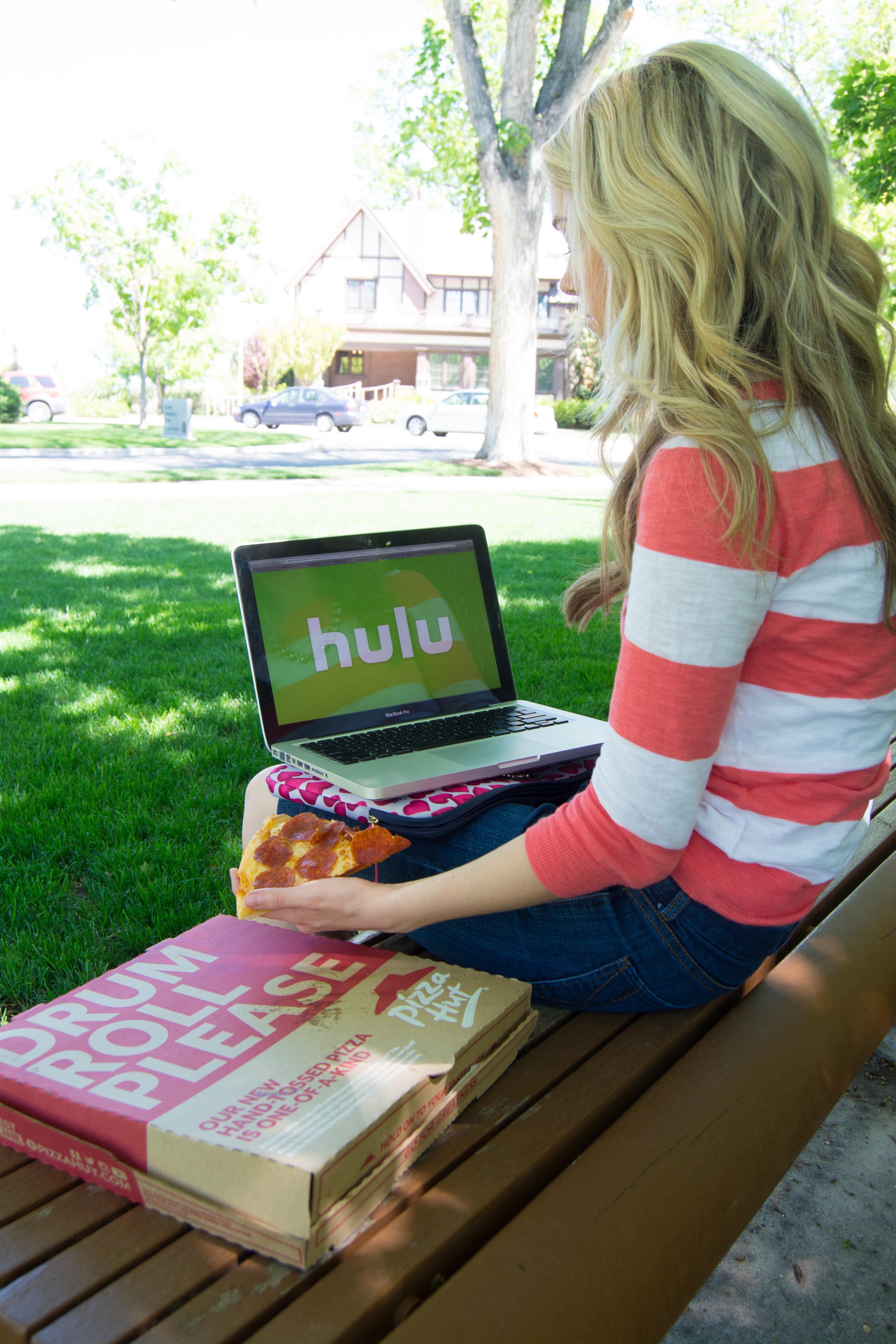 Hulu users will soon be able to order Pizza Hut without ever leaving their streaming page. (Photo by: Natalie Stoker)