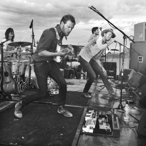 Brumby performs songs from its new EP, The Westwind Kid at the Provo Rooftop Concert Series. (Natalie Tingey)
