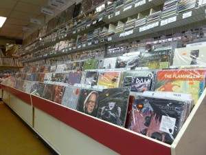 New and used vinyl records from a variety of music genres lines the walls of Randy's Records. (Hayden Harman)
