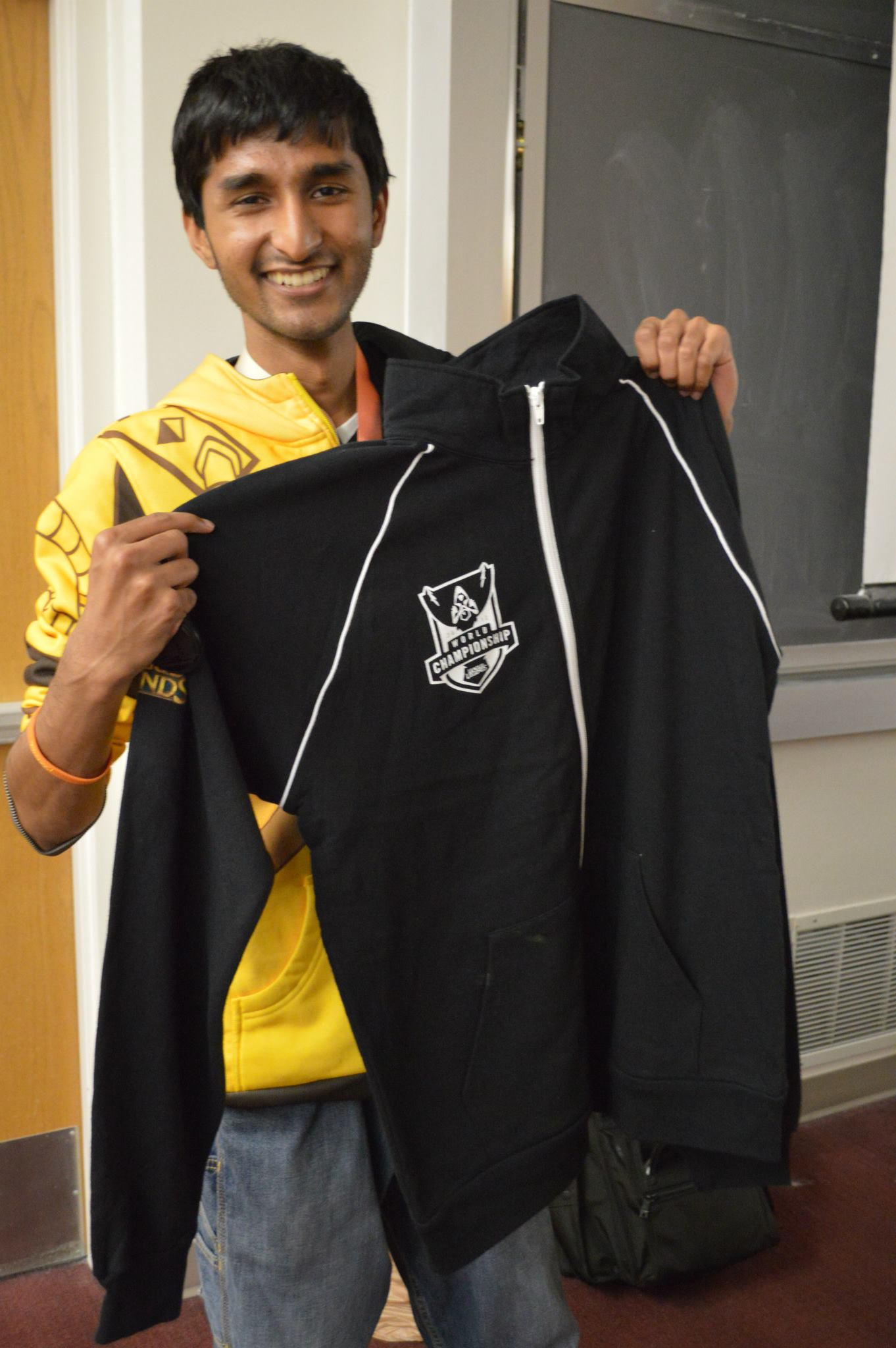 Rizwan Mohammed, a student at the University of utah studying computer science, heads the UofU League of Legends club. (Courtesy Rizwan Mohammed)