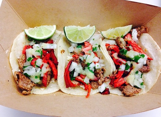 La Campechana tacos,  a pork and steak mix, are the most popular item at the Pico Norte food truck. (Photo courtesy Pico Norte)