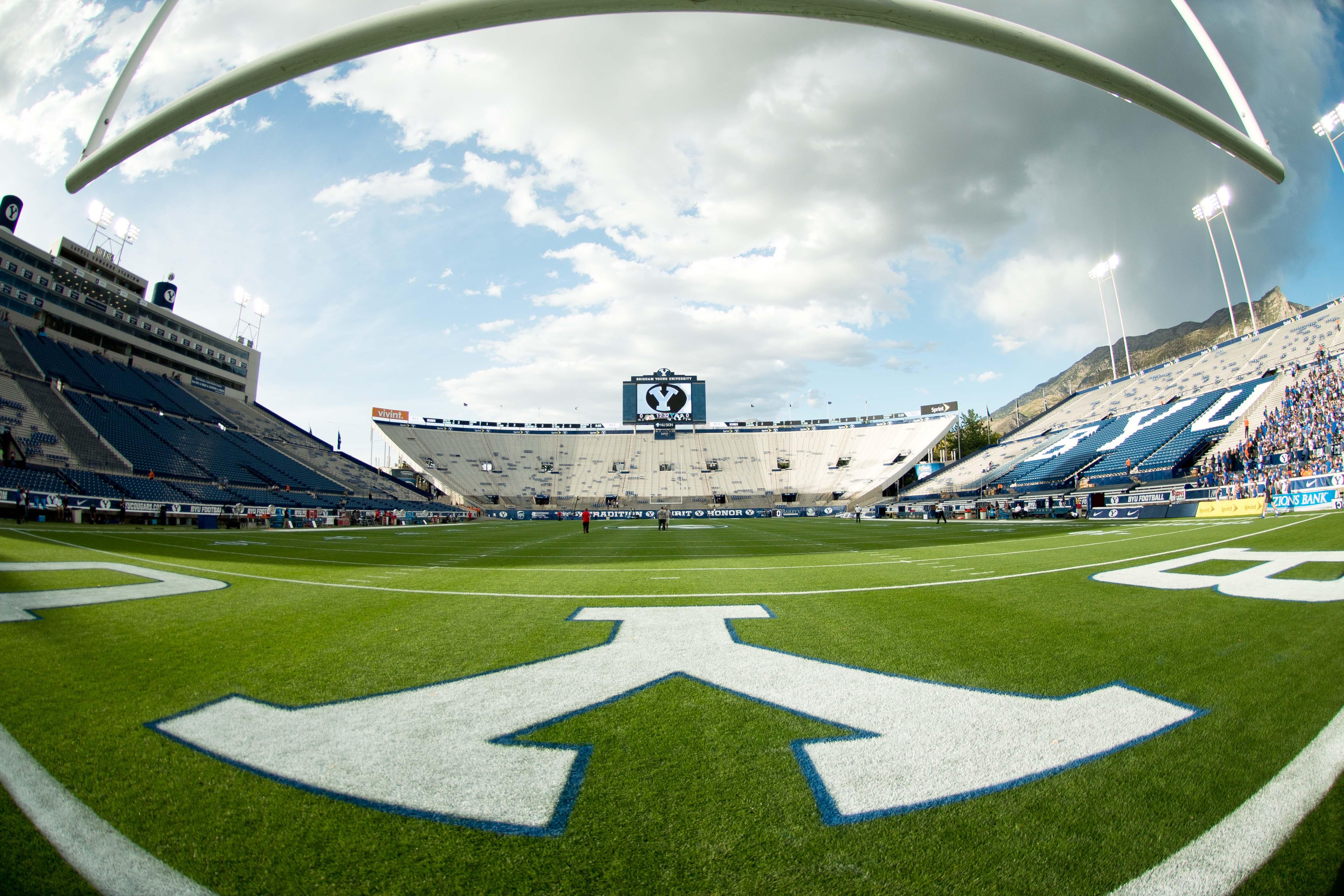 LeVell Edward's Stadium in Provo, Utah. (Universe Photo)