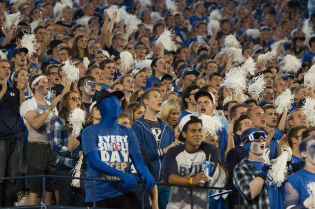 5 fans you will see at every BYU football game