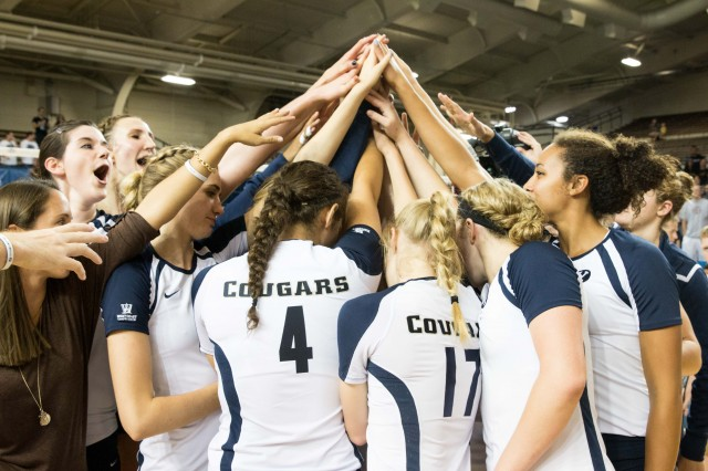 Gray leads No. 14 BYU volleyball in a close match against Pacific