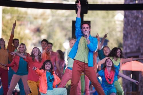 Young Ambassador's Homecoming flash mob video 'makes a change'