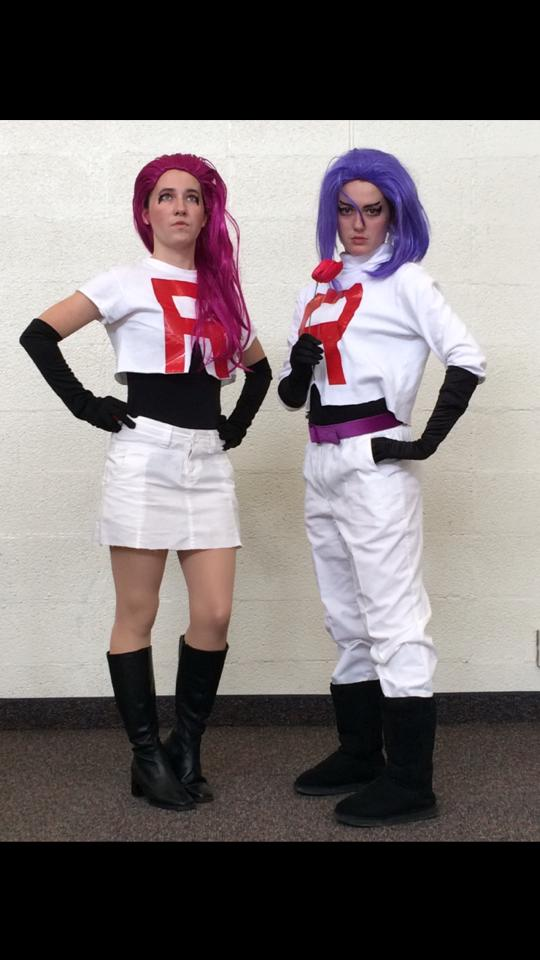 ladies and gentlemen after 4 years in the jessie and james of team rocket via facebook