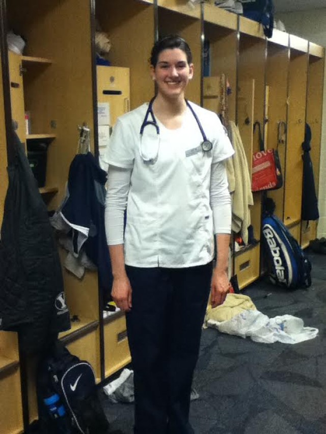 Amy Boswell: Nursing student by day, BYU volleyball player by night