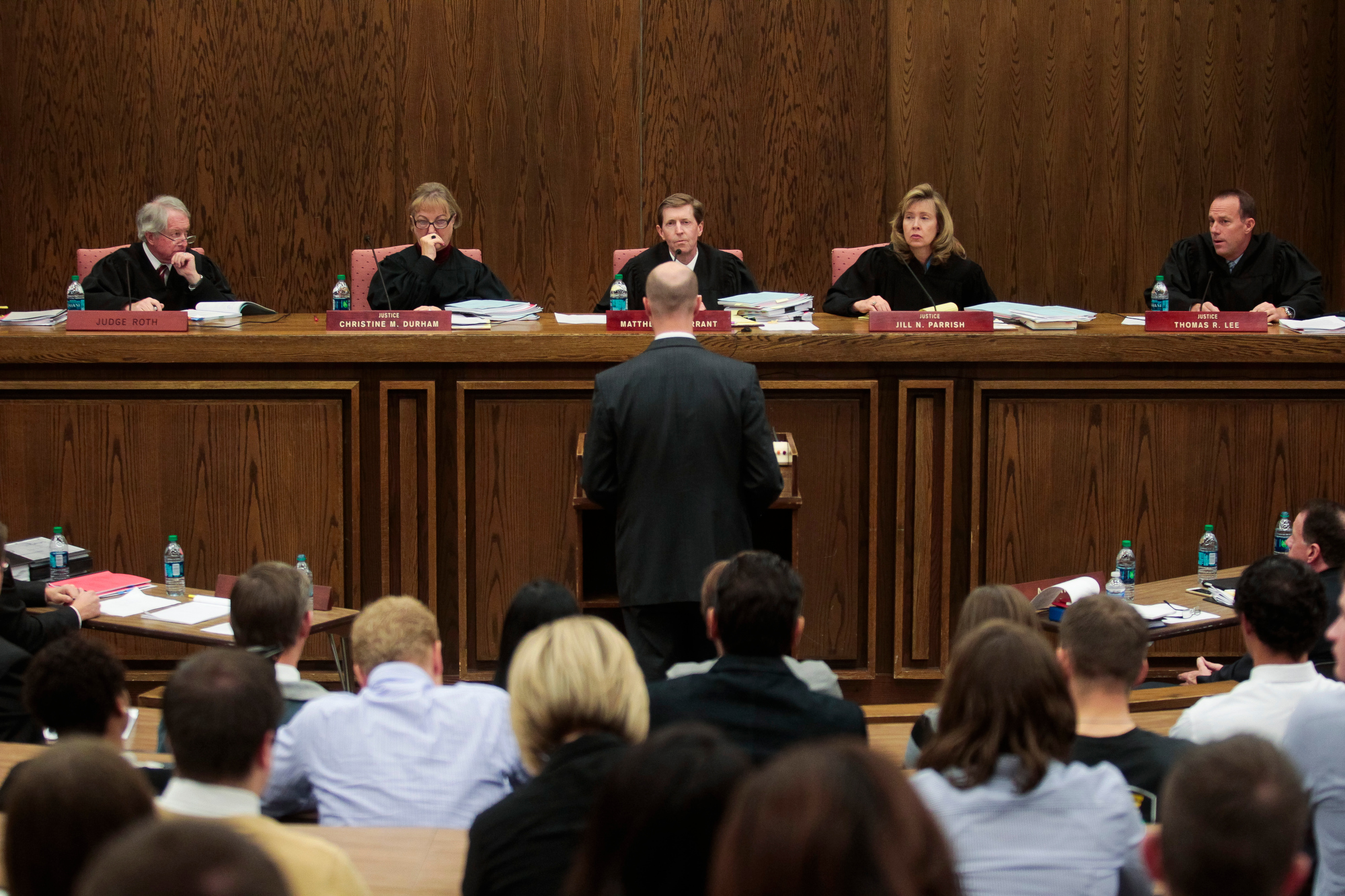 Utah Supreme Court holds special session at BYU 01