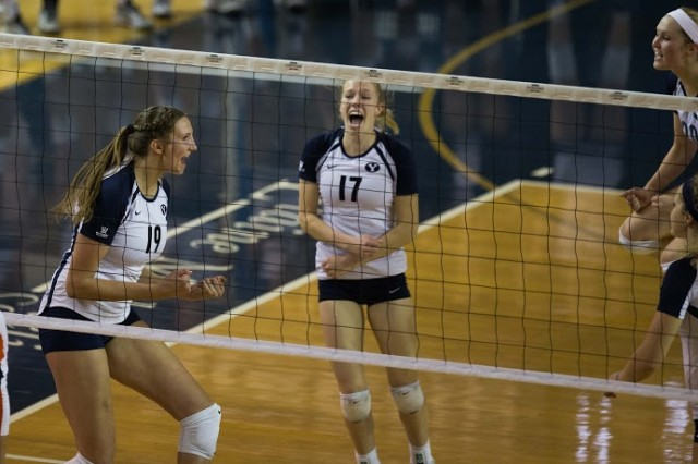 BYU women's volleyball advances to the Sweet 16