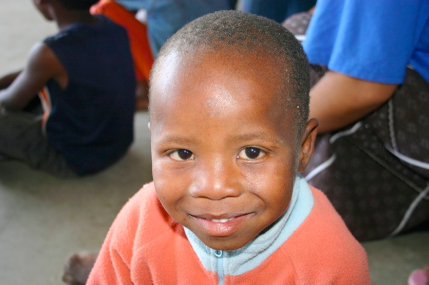 This young South African boy benefited from the BYU research project in Cape Town. (Melissa Hawkley)