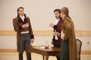 """BYU students perform in a preview of the U.S. premiere of the new musical """"Count of Monte Cristo""""  The musical is written by famous Broadway composer, Frank Wildhorn. (Ari Davis)"""