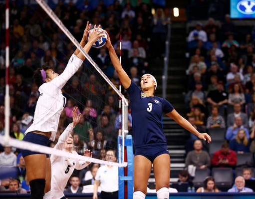 BYU Women's volleyball fell short in the national championship game against Penn St. (BYU Photo)