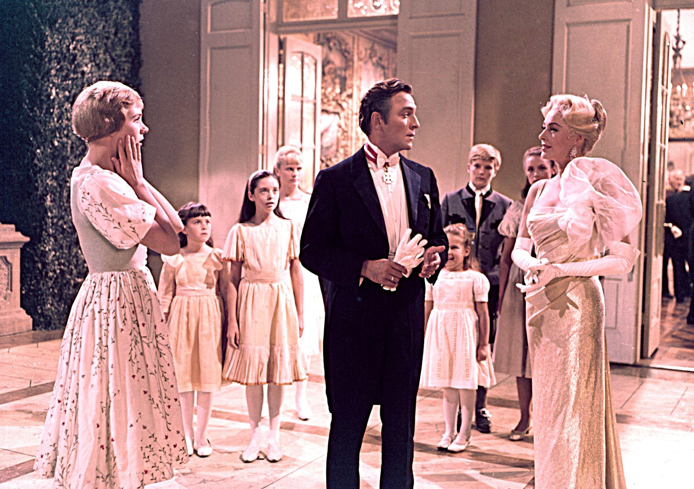 maria sound of music wedding dress. maria von trapp wedding