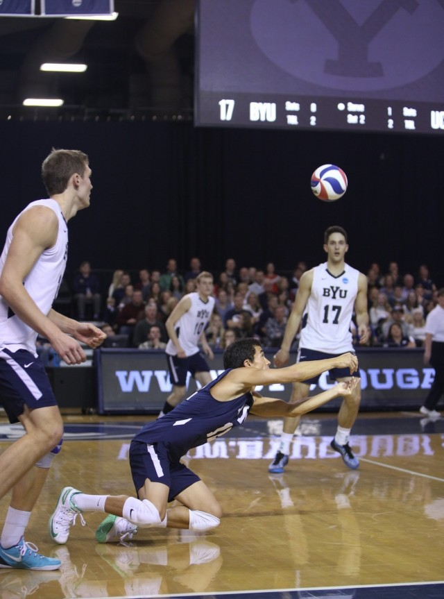 Men's volleyball: Cougars fight hard in 3-1 win over UCLA