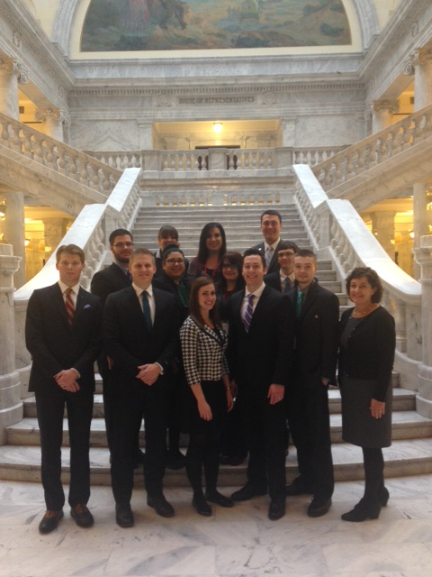 Twelve Weber State interns  will work at the Utah Capitol during the 2015 session.