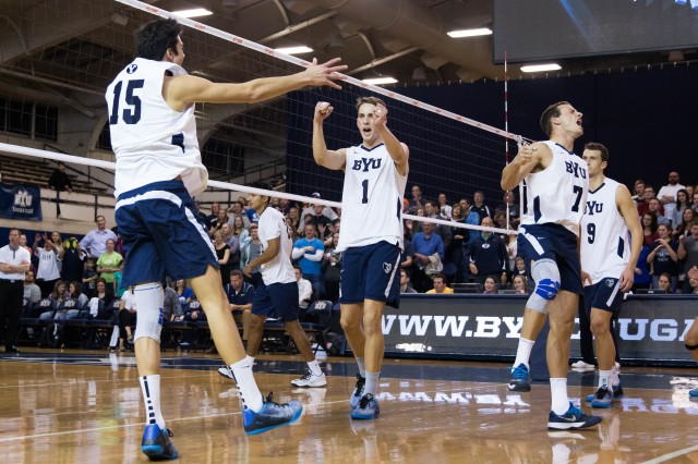 BYU volleyball takes second game against USC