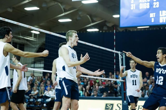 No. 4 men's volleyball refuses to lose