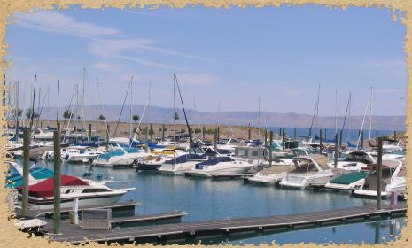 Bear Lake, on the border of Utah and Idaho, is a popular tourist attraction. (Utah State Parks)