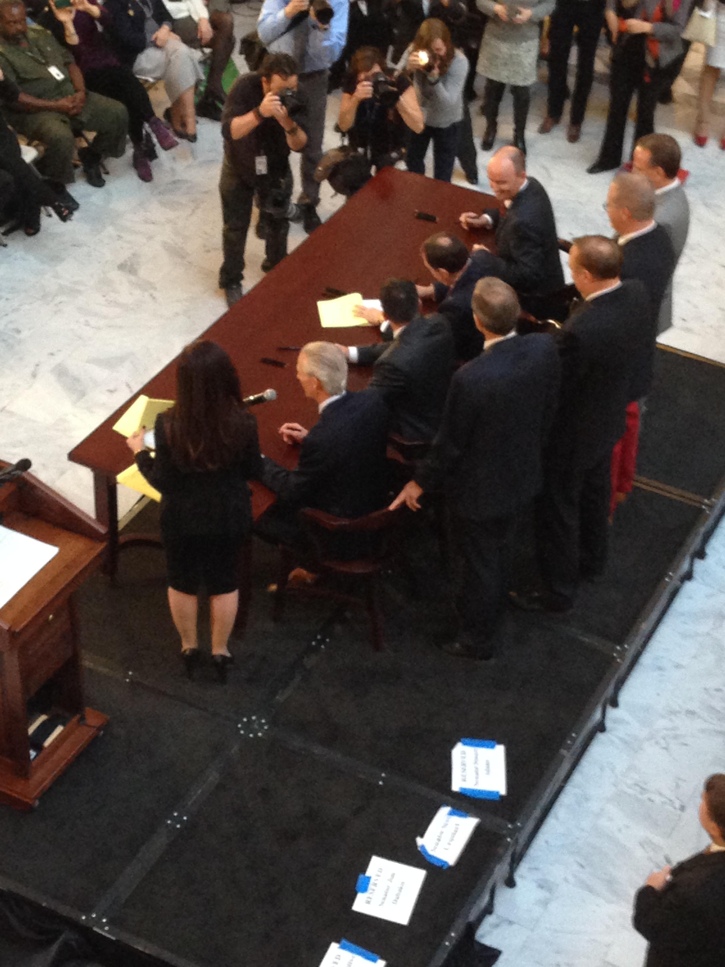Gov. Gary Herbert speaks before signing bill