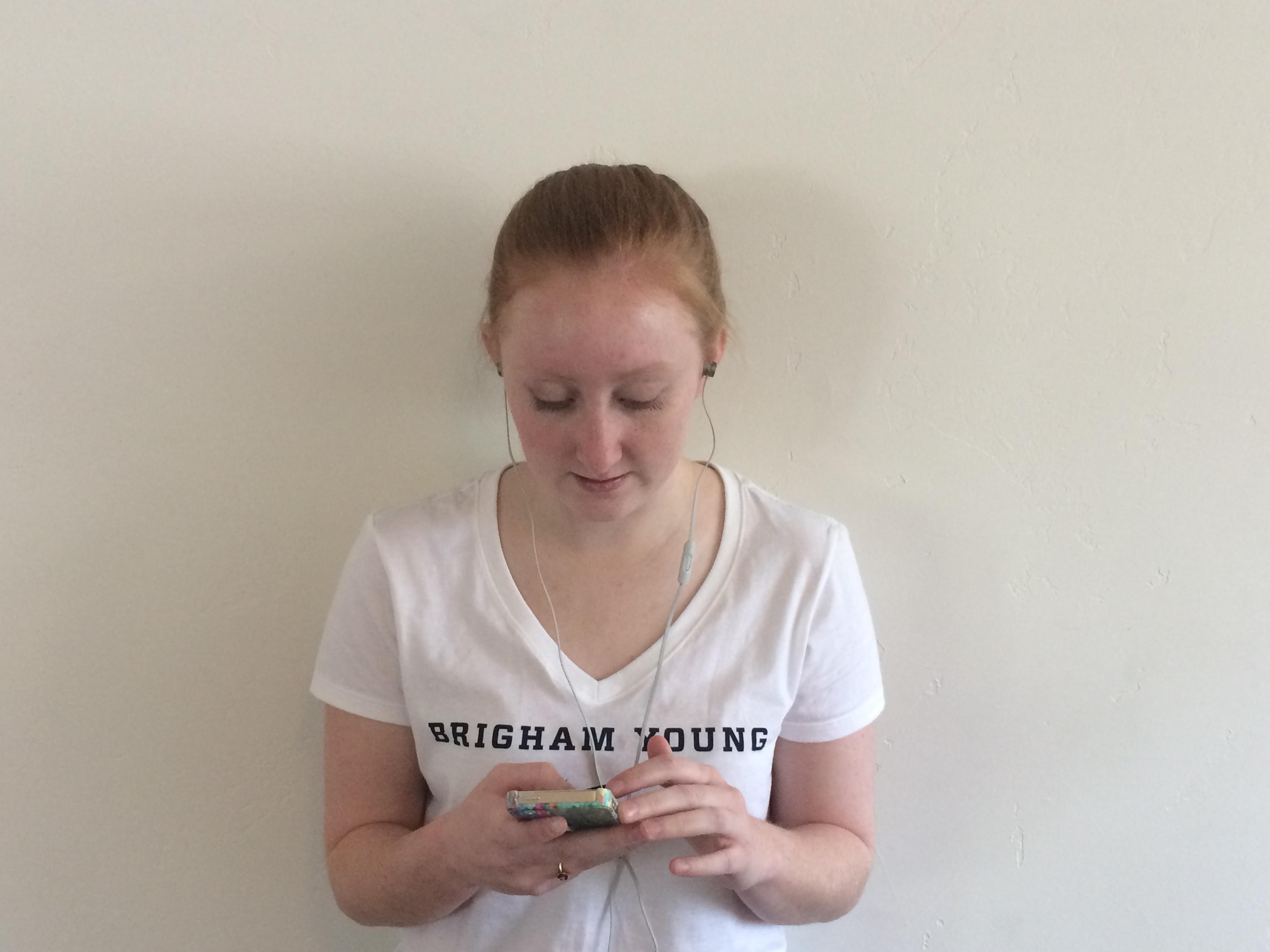 BYU gymnast, Jordan Dalebout, chooses music before stretching