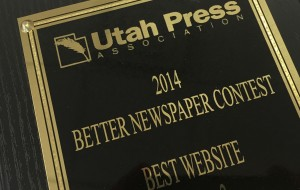 The Universe won awards in the Utah Press Association's 2014 Better Newspaper contest.