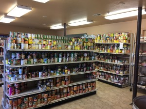 Food Pantry at Community Action Services in Provo.  (Hailey Stevens)