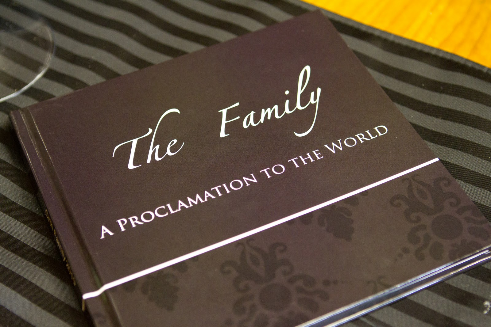 Creating a photo book is simple to do now with online tools and features the Proclamation in a very unique way.