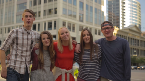 Young adults in Salt Lake encourage others to go to conference in a new YouTube video. (YouTube)