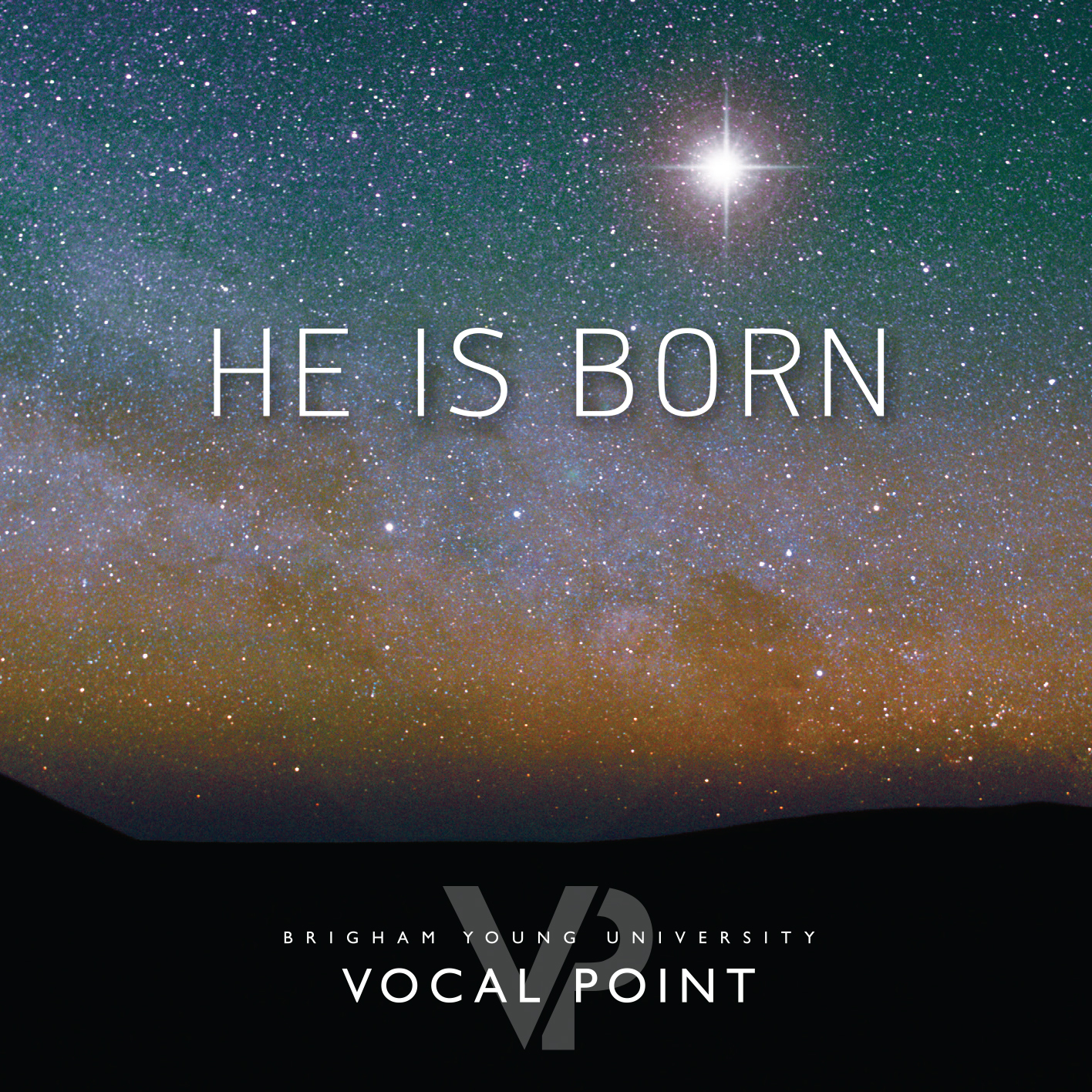 Cover artwork for Vocal Point's new Christmas Album. (BYU Vocal Point)