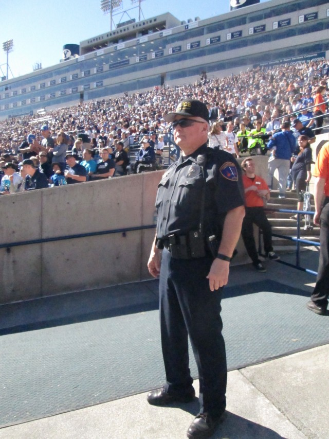 University Police protect thousands at BYU football games