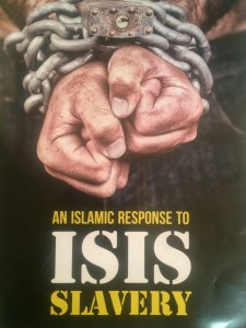 Muslim scholars presented literature and discussion on the Muslim response to ISIS.