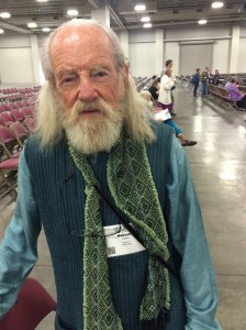 Makasha H. Roske was invited to present at the Parliament of World's Religions. Rose is with the Hummingbird Community in northern New Mexico. (Kjersten Johnson)