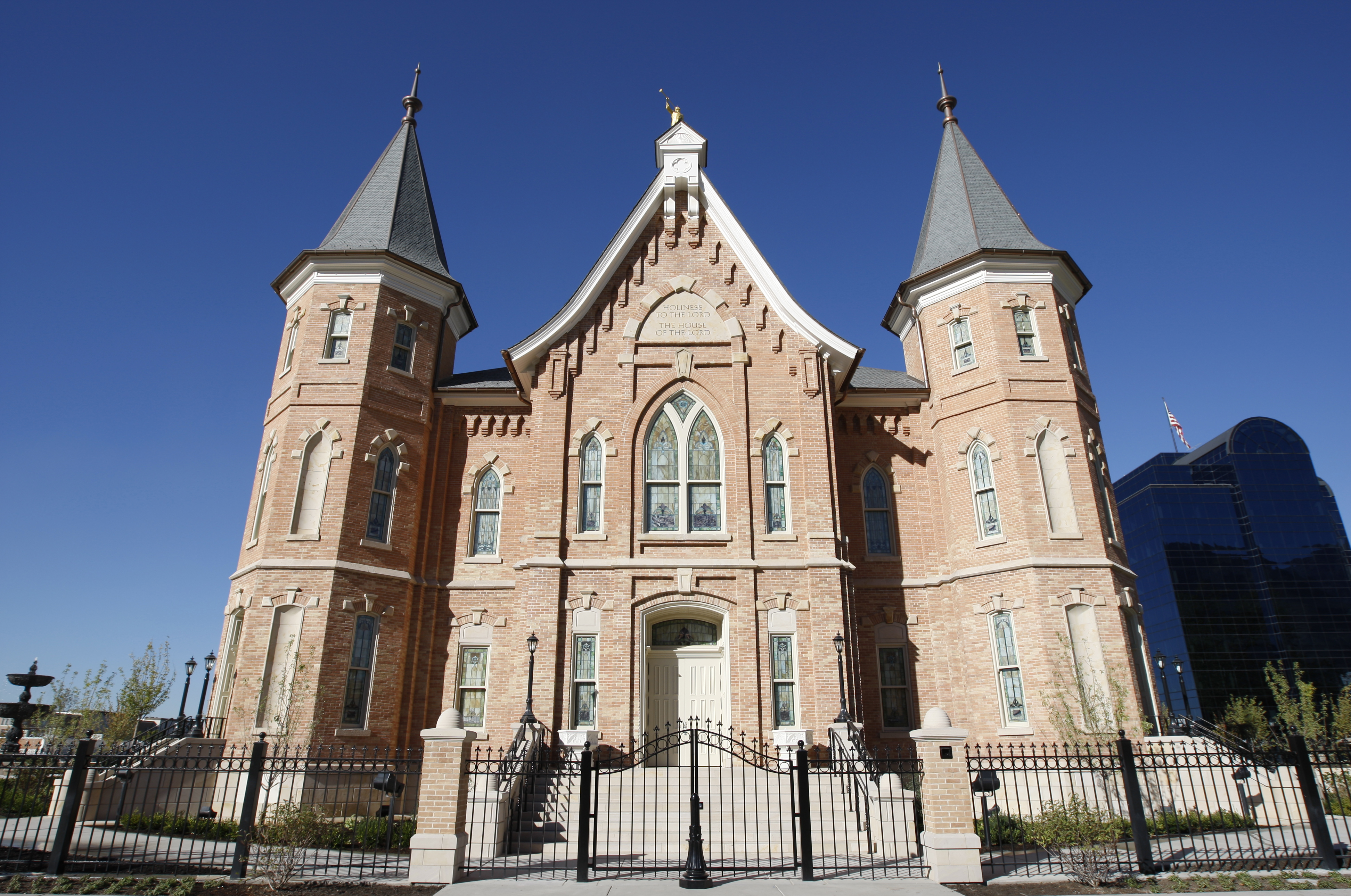 Provo City Center Temple Is Almost Finished And Will Have An Open House In  January 2014.