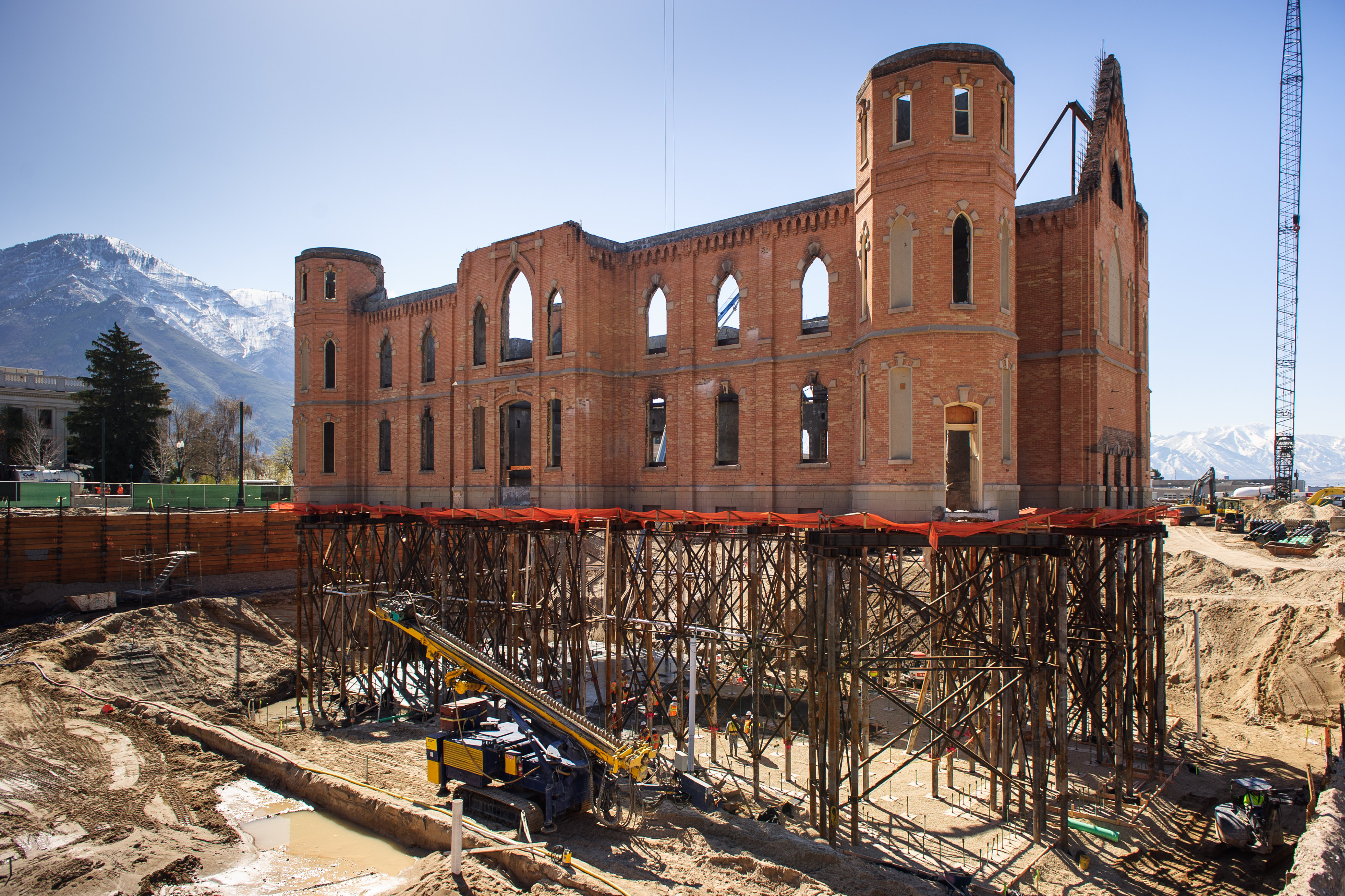 Provo City Center Temple Is Raised And Ready The Daily