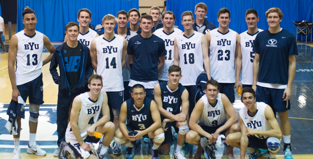 BYU men's volleyball starts No. 1 in Coaches Poll - The ...