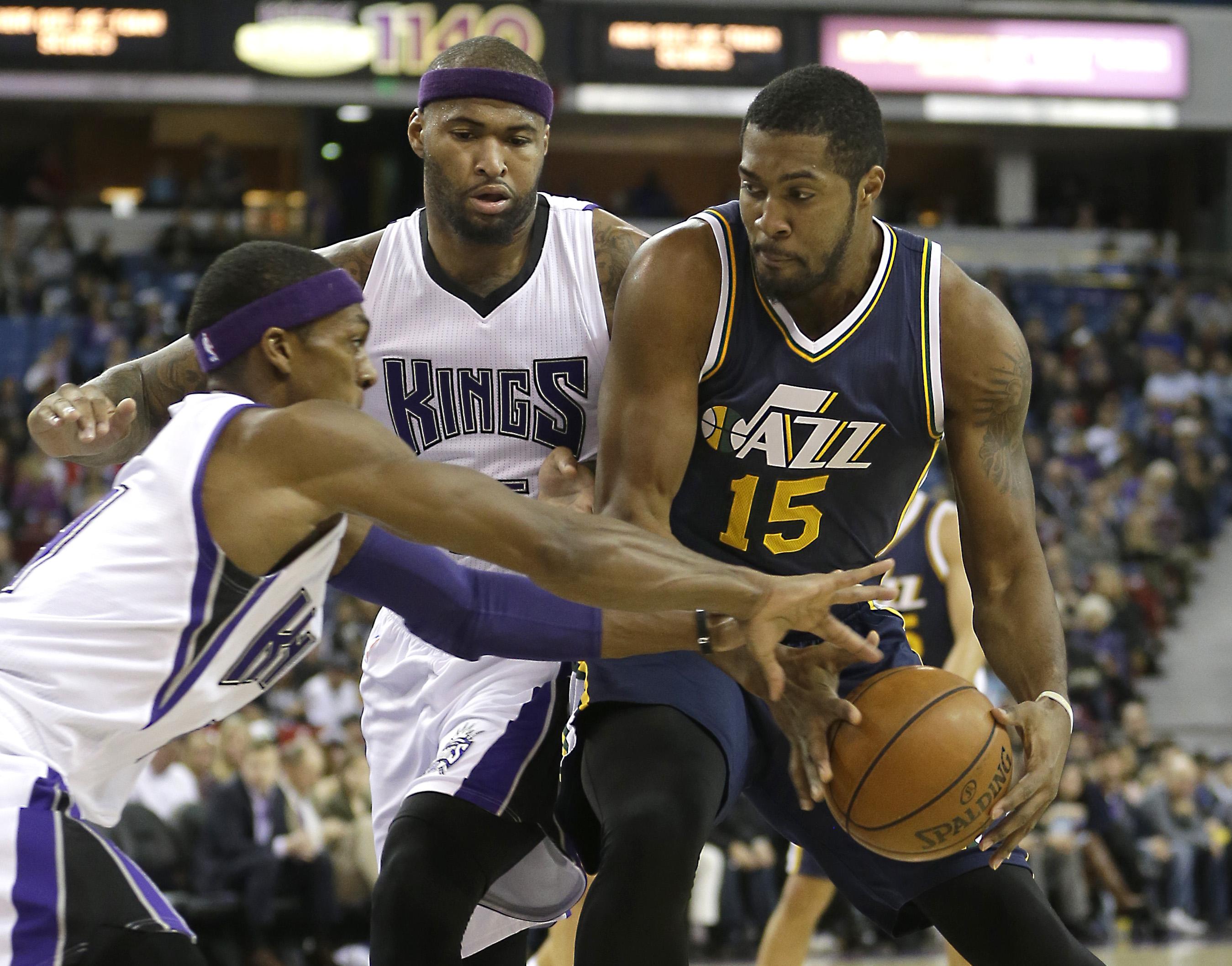Jazz Kings Basketball Bing