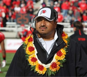 Kalani Sitake is the new head football coach for BYU. Sitake spent 10 years on the University of Utah coaching staff. (University of Utah Athletics)