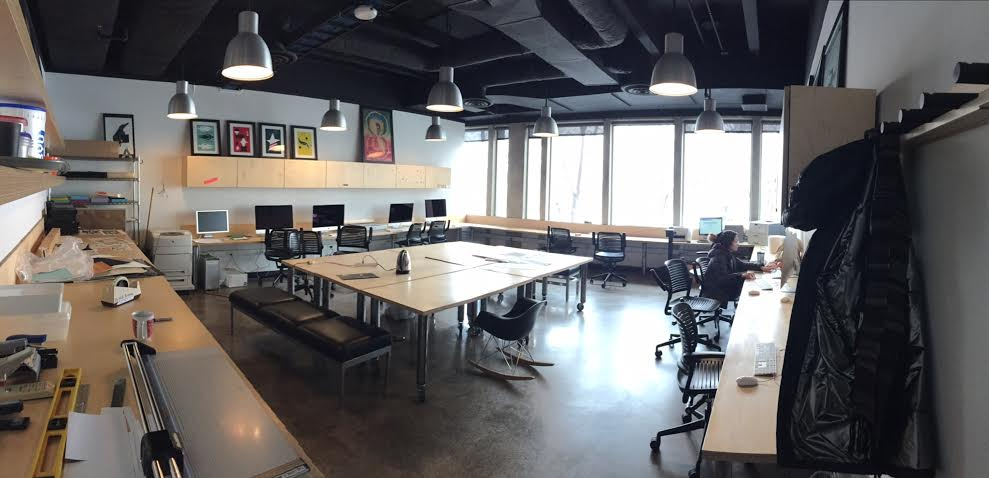 A Design Studio In Harris Fine Arts Center Is Shown Students Spend Hours Here Once They Are Accepted Into The Illustration Program Daniel Sappenfield