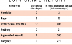 Differences in the way police report on- and off-campus crimes makes it unclear how many off-campus crimes involve students. (Jessica Olsen)