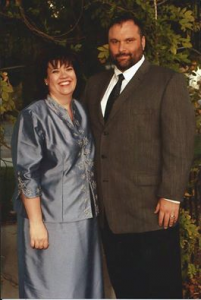 Shelly Baird with her husband