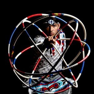 Michael Goidel, a 22 year old hoop dancer joins Living Legends, following the footsteps of his parents and siblings here at BYU