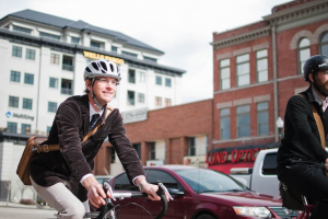 Provo city will be holding their first ever Provo Bike Month. Tuesday, May 10 will be bike to work day. (Provo City Twitter)