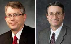 Professors Larry Howell and Vincent Wilding are the new associate deans of the Ira A. Fulton College of Engineering and Technology at BYU. (BYU Photo)