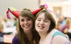 Students develop friendships with young adults that have cognitive disabilities. Volunteers help provide a fun BYU experience.
