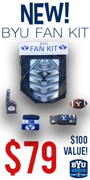 BYU Store Fan Kit Ad