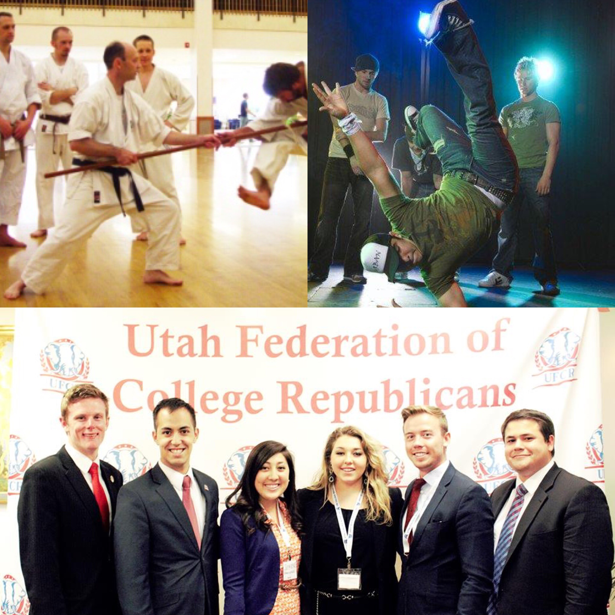 BYUSA Photo and the BYU College Republican club