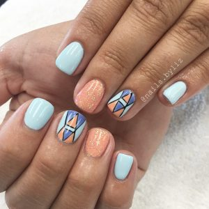 Modern nail trends make a point the daily universe nail art and gel nail polish are popular manicure trends in provo at the moment liz henson prinsesfo Choice Image