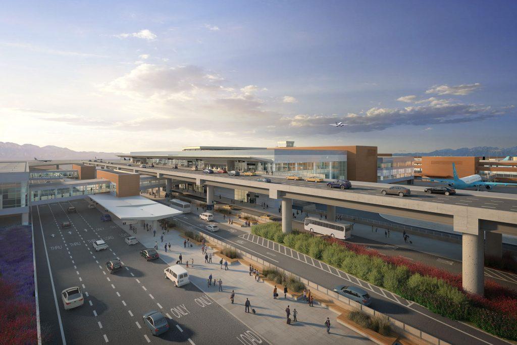 Slc Airport Constructing Terminal Building Coming 2020