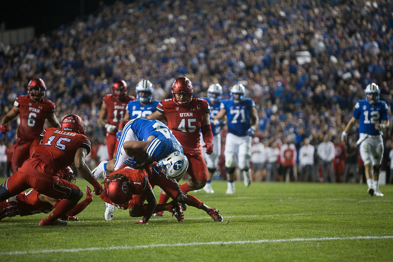 Utah holds off BYU to win rivalry game 19-13