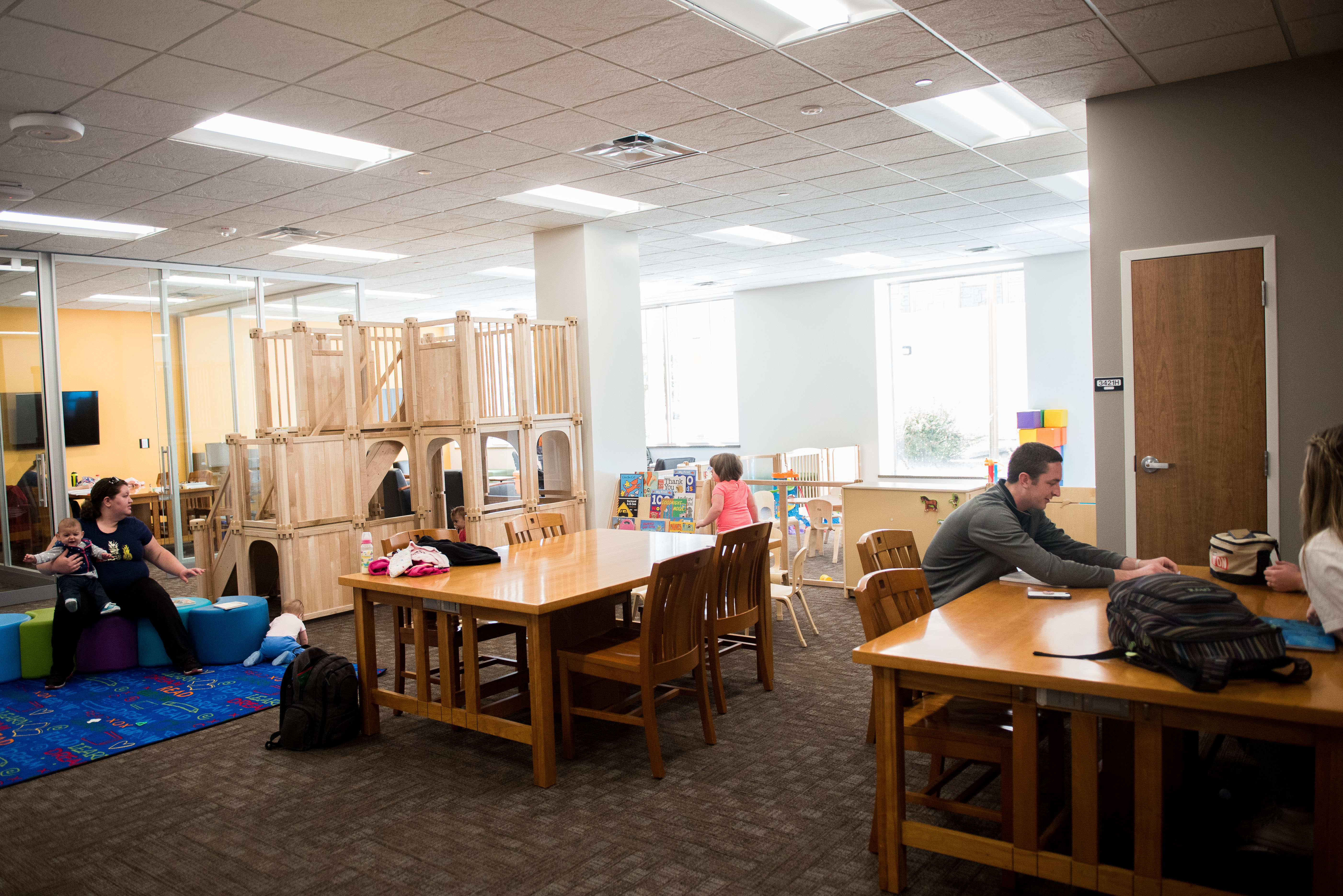 BYU Supports Young Parents With New Family Friendly Study Room